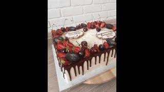 День кондитера Фильм № 15  Собираем прямоугольный торт!!!
