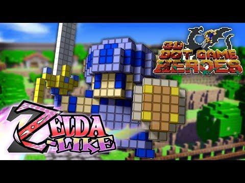 3D Dot Game Heroes (Zelda-Like)