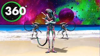 Psychedelic ALIEN YOGA - Techno Chill-Out Mix - Mind Chill 360