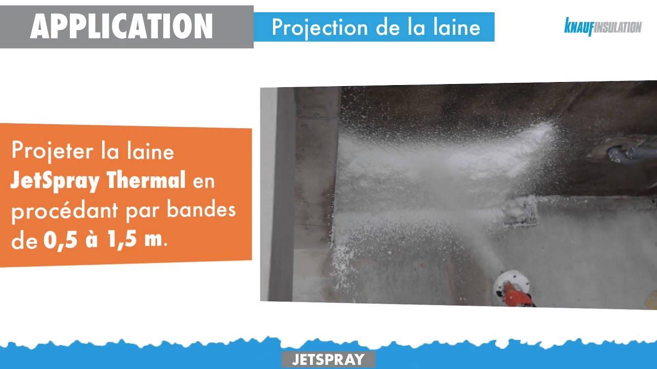 JetSpray System par Knauf Insulation
