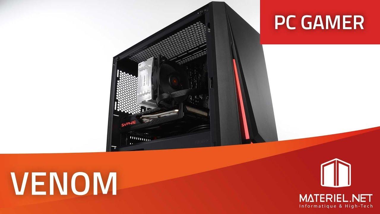 PC Gamer Venom - Config PC Ryzen 5 3600 / Radeon RX 5700 (2019)