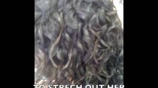 A CURLY PERM FOR NATURAL TEXTURED HAIR