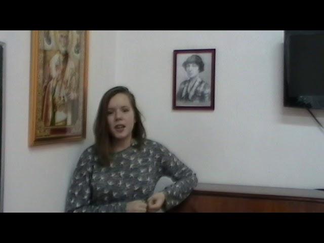 Изображение предпросмотра прочтения – МарияПивоварчук читает произведение «Уж сколько их упало в эту бездну...» М.И.Цветаевой
