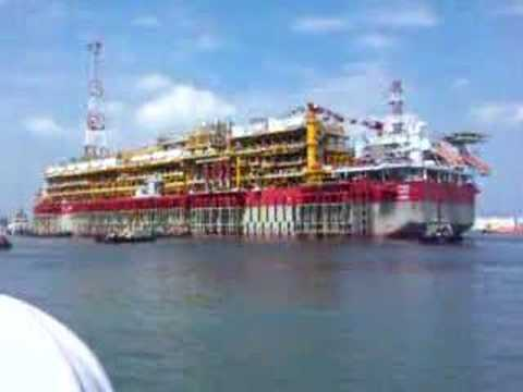 TOTAL AKPO FPSO Project sailaway