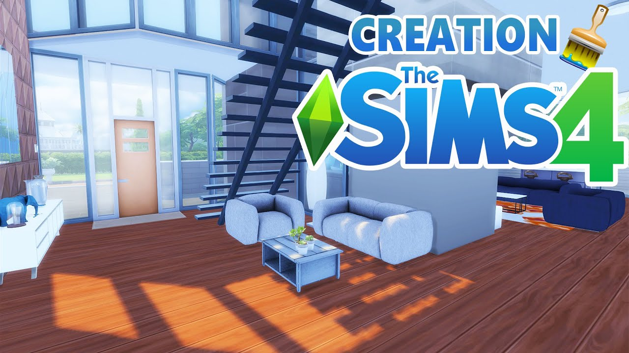 Transparence d coration sims 4 youtube for Decoration maison sims 4