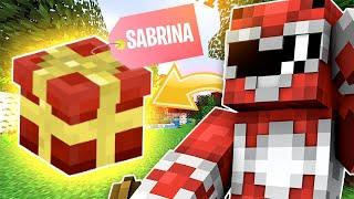 """SABRINA MI FA UN REGALO """"BELLISSIMO"""" NEL VILLAGGIO! Minecraft Ita Anima #31"""