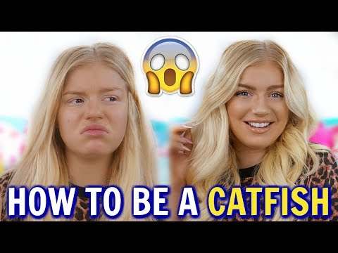 HOW TO BE A CATFISH GET READY WITH ME + BIG ANNOUNCEMENT   Lucy Flight