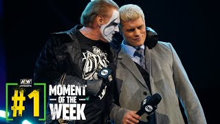 UNCUT We Hear From Sting for the First Time Ever in AEW | AEW Dynamite, 12/9/20