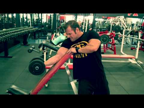 Swollen Bicep Building with Incline Bench DB Preacher Curls