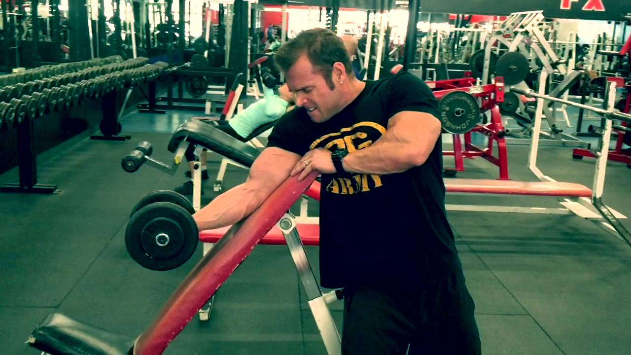 Spider Curls Incline Bench Part - 20: Swollen Bicep Building With Incline Bench DB Preacher Curls - YouTube