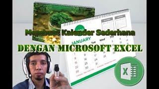 Membuat Kalender sederhana dengan Microsoft Excel screenshot 4