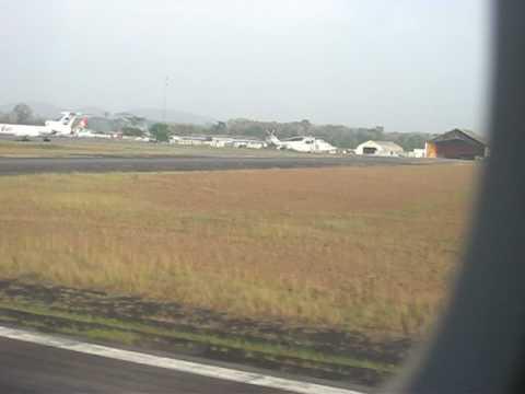 Landing in Monrovia, Liberia