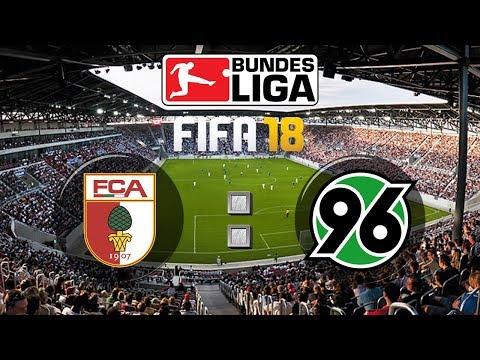 FIFA 18 Bundesliga FC Augsburg : Hannover 96 | Gameplay Deutsch Livestream