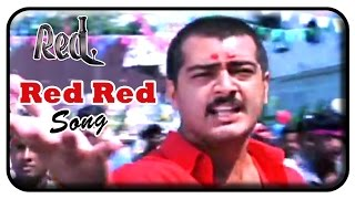 Red Tamil Movie | Songs | Red Red Video Song | Ajith Kumar | Priya Gill | Deva
