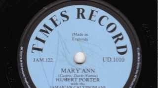 Mary Ann [10 inch] - Hubert Porter with the Jamaican Calypsonians