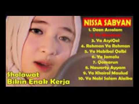 nissa-sabyan-full-album-~-lagu-sholawat-nabi-terbaru-2019-bikin-semangat-kerja