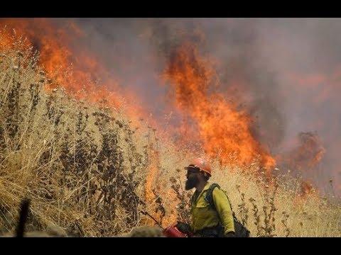 GSM Update 7/7/18 - Wildfire - Flooding - Hail Scars - Crop Loss - Global Warming Lies