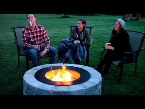 The Zentro Smoke Less Fire Pit Youtube