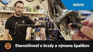 Starostlivosť o brzdy a výmena špalíkov na cestnom bicykli | SERVIS - MTBIKER.SK