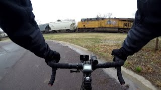 Train Race And Should You Wear Headphones While Bicycling? Commute Bike Blogger
