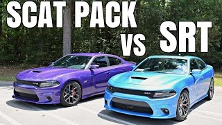 Differences Between The SRT 392 & Scat Pack Dodge Charger