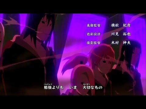 "Naruto Shippuuden - Opening 11: ""Totsugeki Rokku"" | Lyrics + Ger Sub"