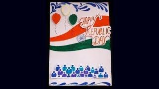 Card idea for Republic Day
