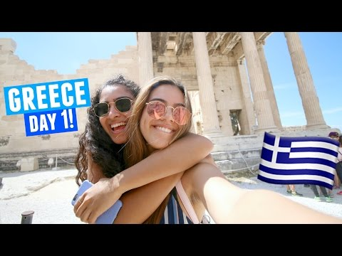 OUR FIRST DAY IN GREECE | Athens Day 1!