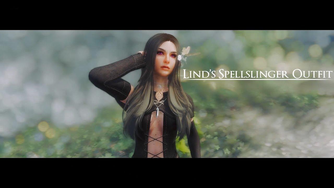 Skyrim Mod | Lind's Spellslinger Outfit