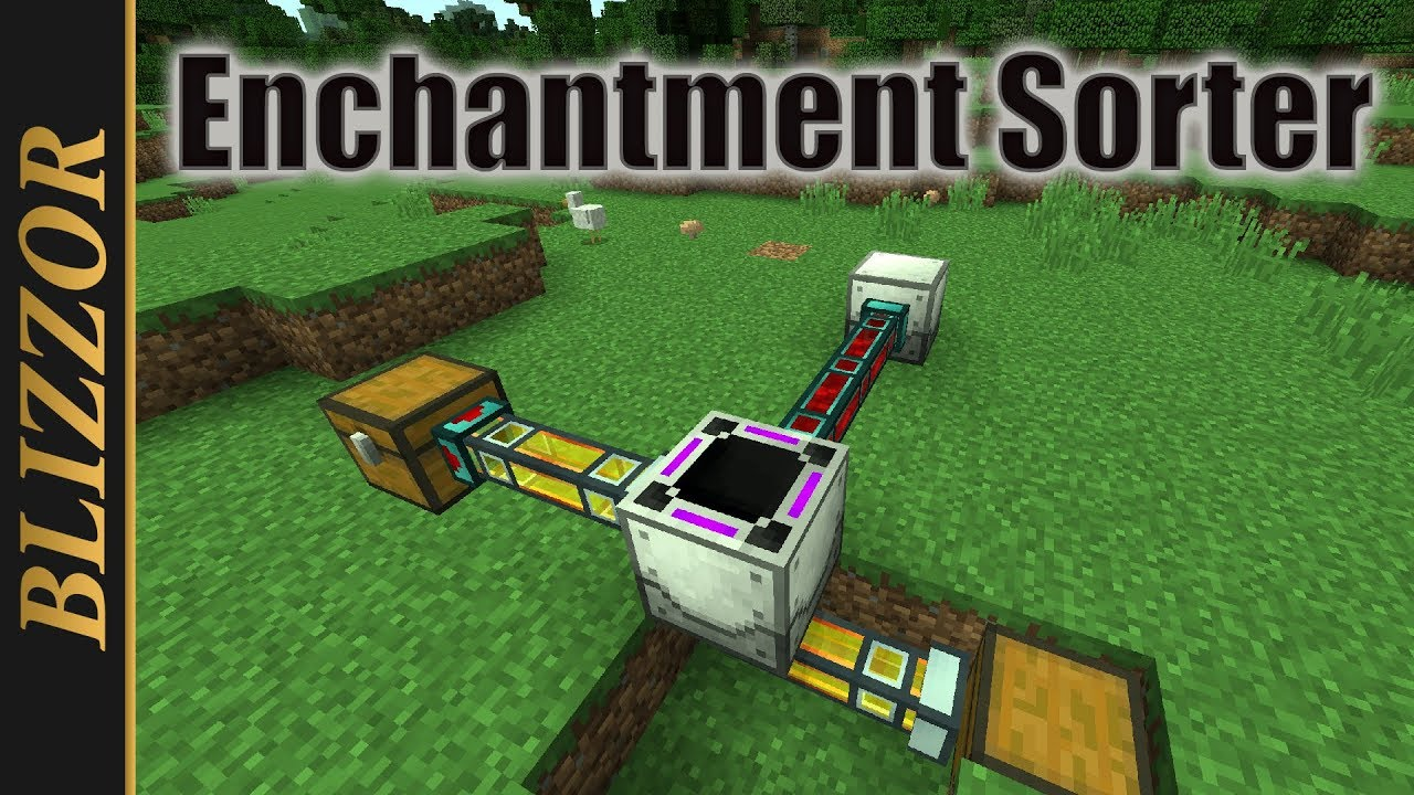 Industrial Foregoing - Enchantment Sorter [Tutorial ...