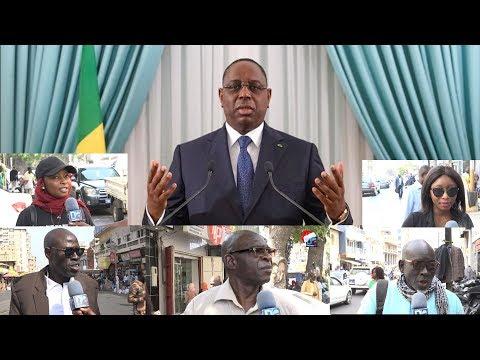 Discours à la nation   Les citoyens évaluent le septennat de Macky Sall