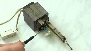 Jak zapojit LEDky místo žárovky u trafopáječky