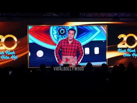 Salman Khan At Shahrukh Khan's Kuch Kuch Hota Hai 20 Years Celebration  SPECIAL MESSAGE