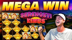 MEGA WIN on Serengeti Kings!