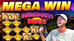MEGA WIN on Serengeti Kings!