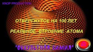 ОТВЕРГНУТОЕ НА 100 ЛЕТ РЕАЛЬНОЕ СТРОЕНИЕ АТОМА
