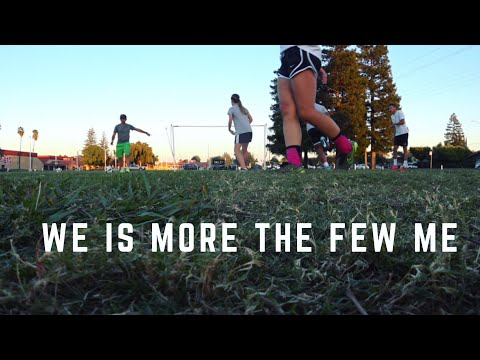Soccer training - group skills movement communication drills - skills ball control and finishing