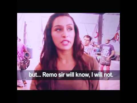 The Making of Sun Saathiya Song ABCD 2 - Shraddha & Remo sir Comments Each Other