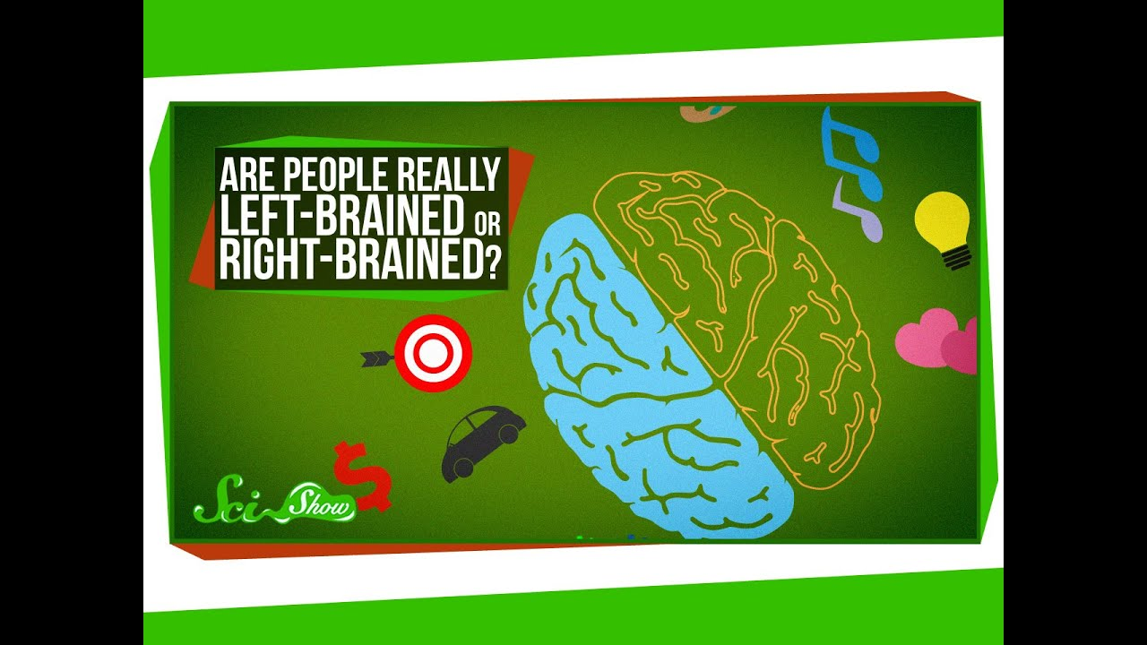 Are People Really Left-Brained or Right-Brained? - YouTube