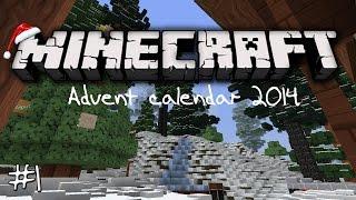 minecraft advent calendar 2014 day 1