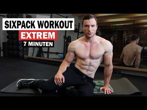 7 Minuten Sixpack Workout Für Zuhause - Extrem Effektiv! | Sascha Huber