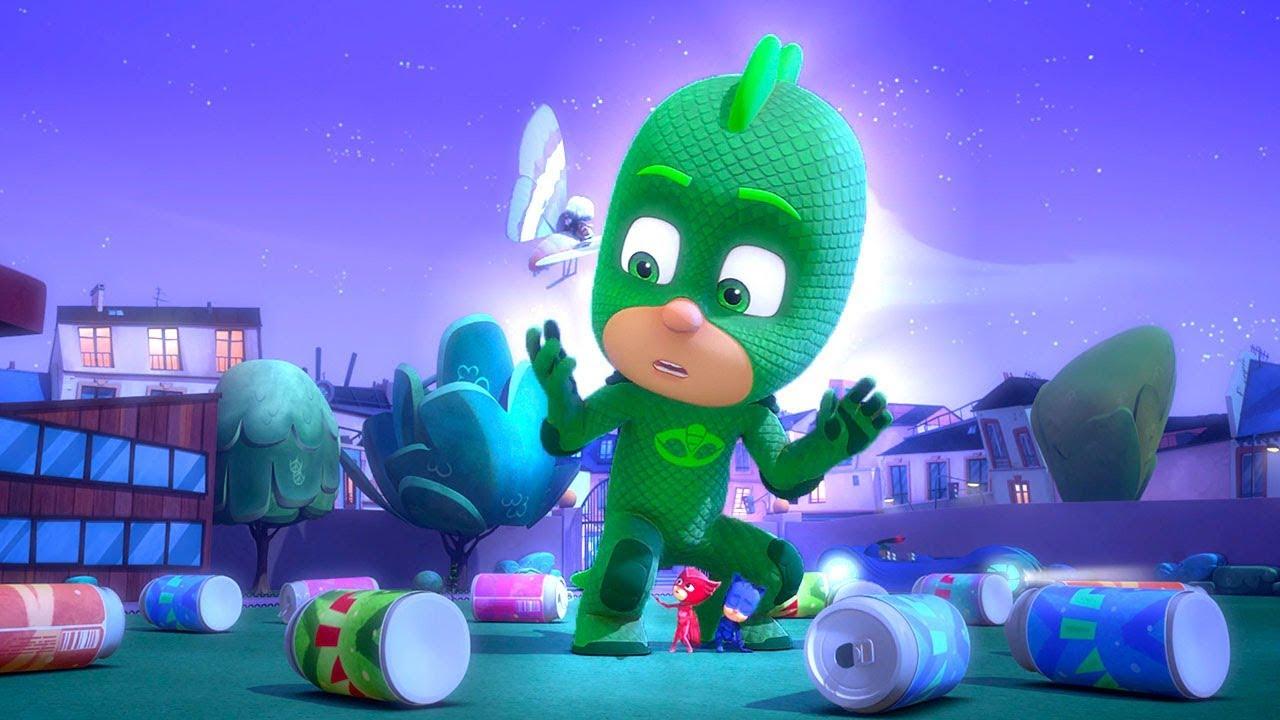 Heroes en Pijamas Capitulos Completos El Gran Lagarto! |  Dibujos Animados