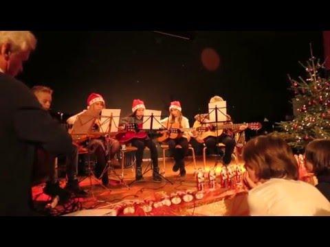 Christmas-Medley Gauss Weihnachten 2015 Gitarren-AG