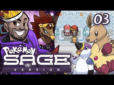 """Pokémon Sage Let's Play w/ TheKingNappy! - Ep 3 """"A FROSTY FIRST GYM!!"""""""