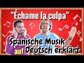 """SPANISCH lernen mit Musik: """"Échame La Culpa"""" auf Deutsch erklärt"""