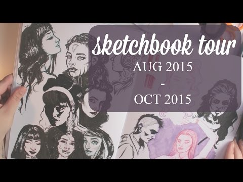 SKETCHBOOK TOUR | Aug '15 to Oct '15