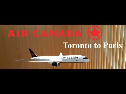 Trip Report: Air Canada Boeing 787-9 Toronto To Paris In Economy Class. YYZ-CDG