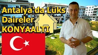 Antalya lüks satılık daire - Uncali Konyaatlı