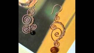 Wire Wrapped Earrings Tutorial