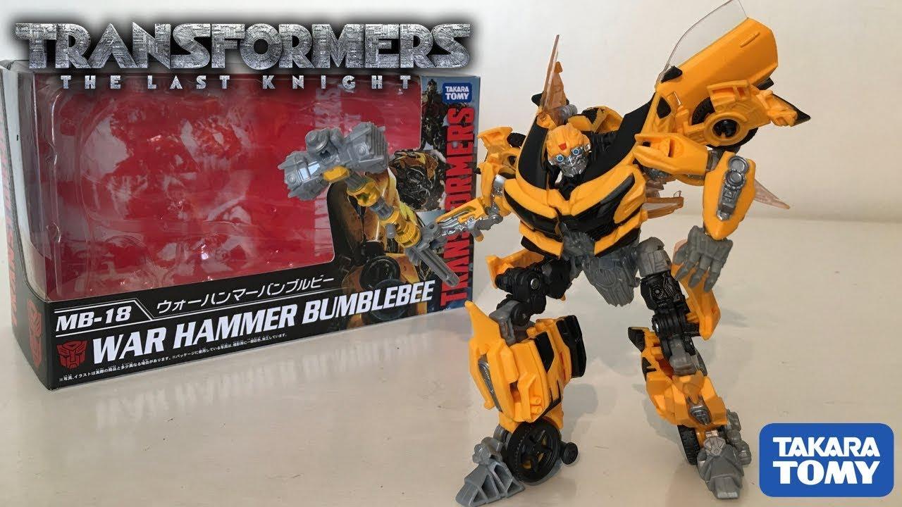 Takara Tomy Transformers MB-18 Warhammer Bumble Bee Action Figure